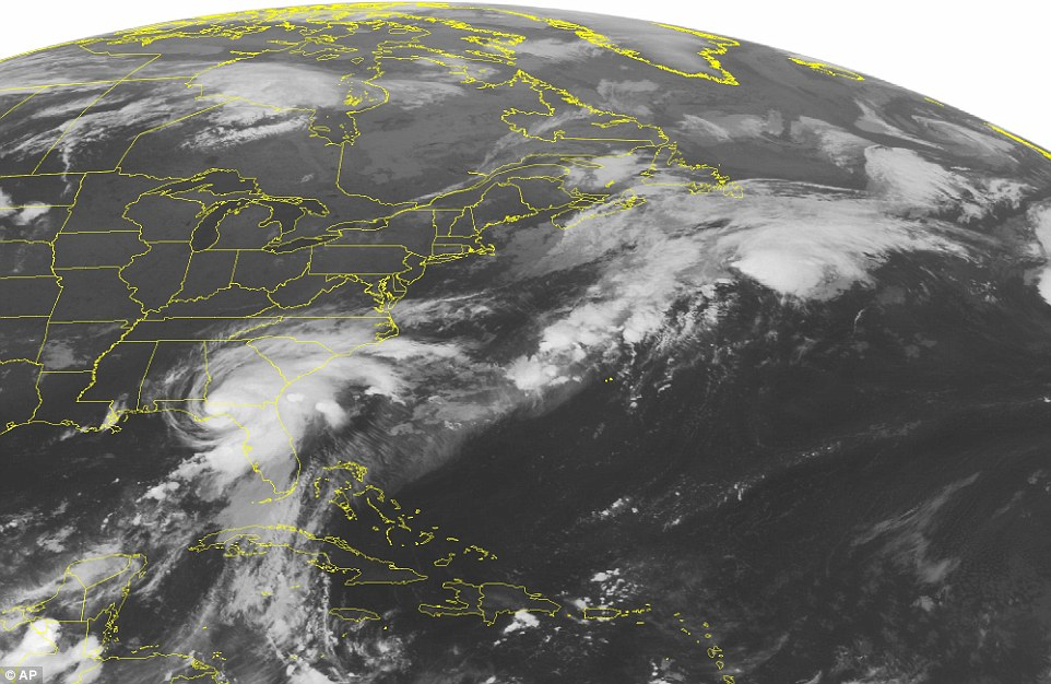 Hurricane Hermine has slammed into Florida, with the Sunshine State braced for 80mph winds, 12ft storm surges and up to 20 inches of rain overnight