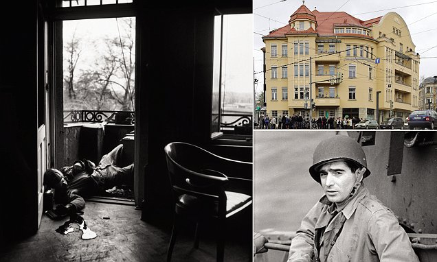 German apartment block where Robert Capa captured iconic WWII the last man to die  Daily Mail