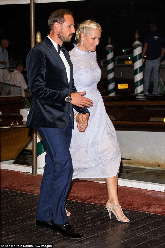 Princess Mette Marit Holds Hands With Husband Prince