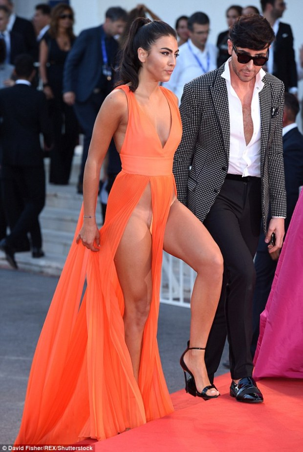 Not her best look: Unfortunately, the fact she sported a visible bikini tan line didn't help matters and ultimately appeared rather tacky