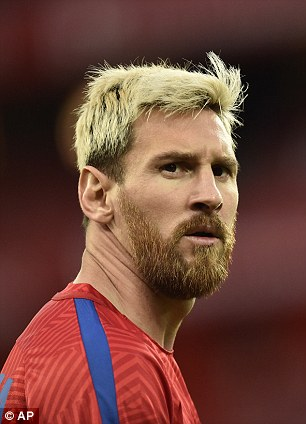 Lionel Messi Explains Decision To Dye Hair Blond This Summer