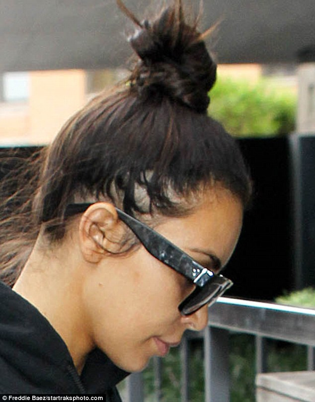 Kim Kardashian Reveals Patches Of Hair Loss After