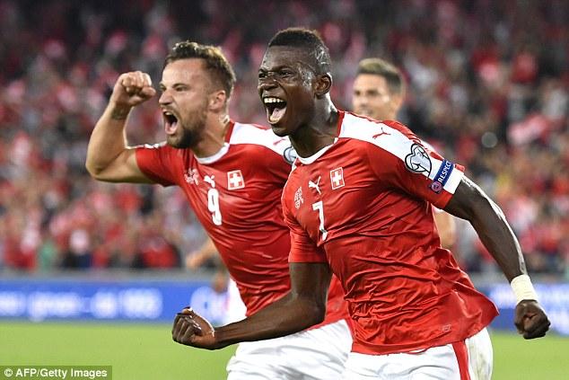Image result for switzerland 2-0 portugal