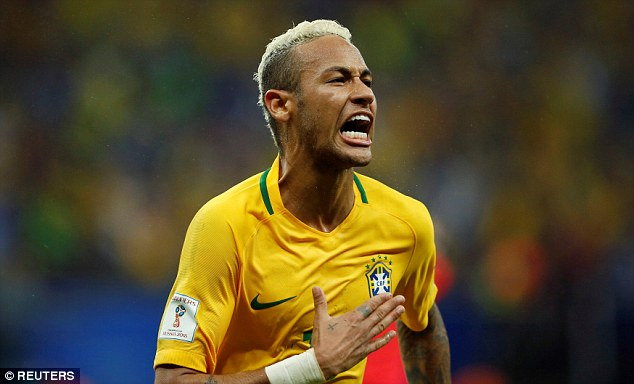 Neymar's second-half goal helped Brazil to a 2-1 World Cup qualifying win over Colombia
