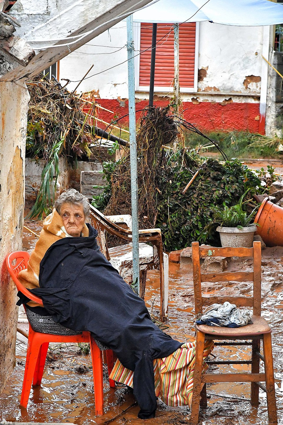 chair for elderly ergonomic company greece floods kill 4 people after heavy rain batters thermaikos, kalamata and sparta | daily ...