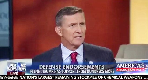 Image result for PHOTO OF MIKE FLYNN