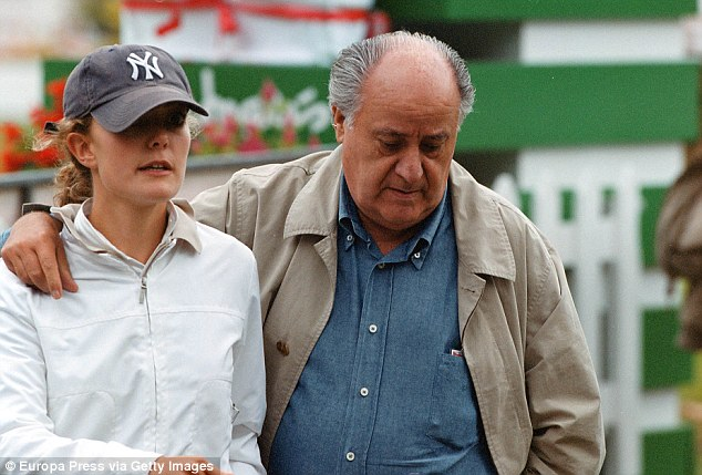 Ortega  became the world's richest man on Wednesday when shares of Inditex went up 2.5 per cent