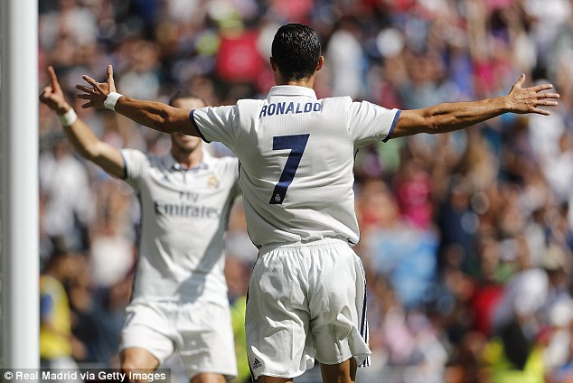 Ronaldo has also said if he were Madrid president he'd give himself a new 10-year contract