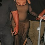 Pregnant Blac Chyna Spotted Leaving a Club In Hollywood