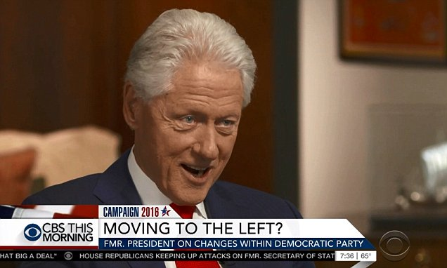 Why did CBS drop Bill Clinton's description of his wife's fainting fits as 'frequently'