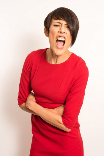 Jo Scott, 51, from Sussex,has become so consumed by rage that even a simple trip to buy the weekly groceries can lead to frighteningly aggressive outbursts