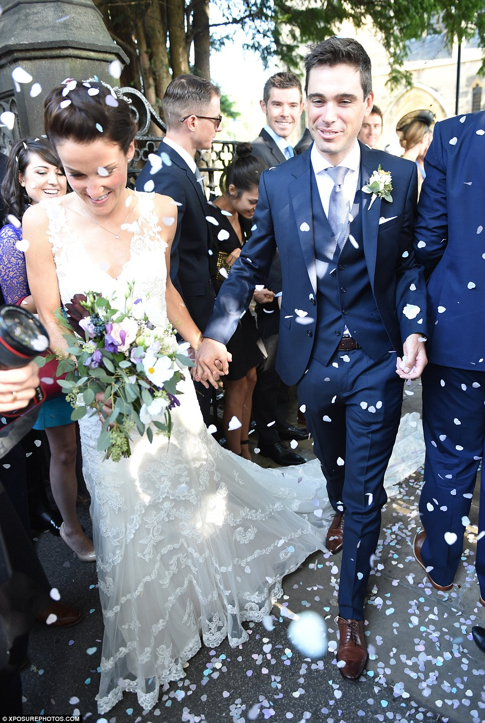 Olympic Cyclist Lizzie Armitstead Marries Fellow Racer