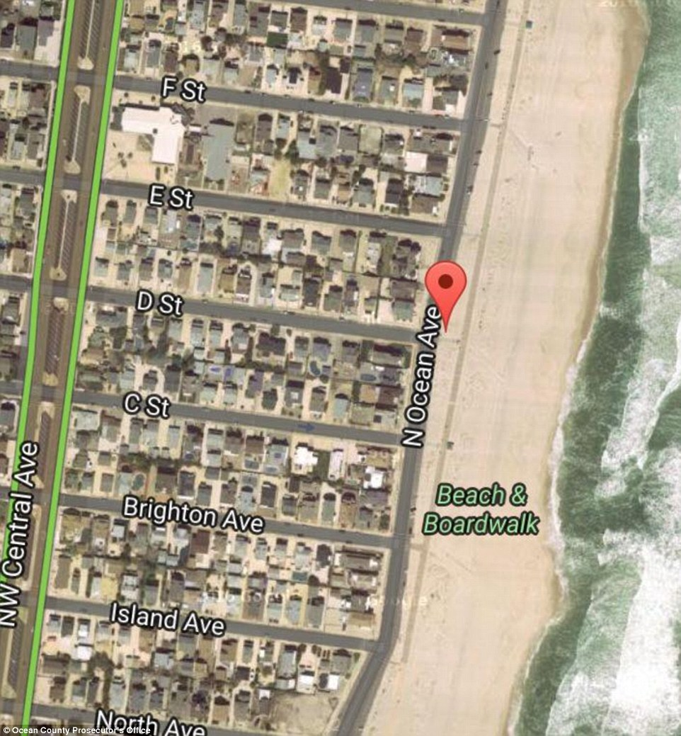 The blast occurred on N Ocean Ave near D and E Streets, where the runners would have been had the race not been delayed