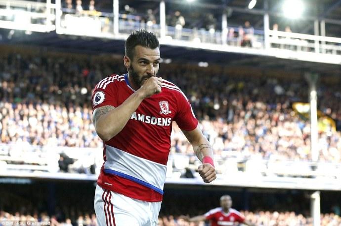 Alvaro Negredo claimed credit for scoring Middlesbrough's opening goal before it was credited to Maarten Stekelenburg