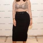 Plus Size Model Ashley Graham Dons Sheer Blouse At NYFW