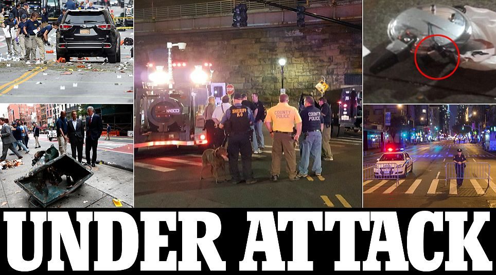 Five terror suspects questioned as a bomb explodes at New Jersey train station: FBI stops