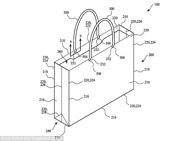 Apple patents a way to make recycled paper bags much