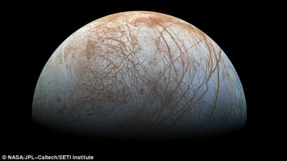 Jupiter's sixth-closest moon Europa is one of the most interesting bodies in our solar system when it comes to the hunt for extra terrestrial life.Now Nasa has released a cryptic message saying 'surprising' evidence about the moon will be announced on Monday