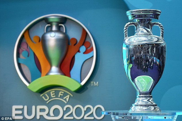 UEFA launch Euro 2020 logo. but without a host nation this is still the tournament without identity   Daily Mail Online
