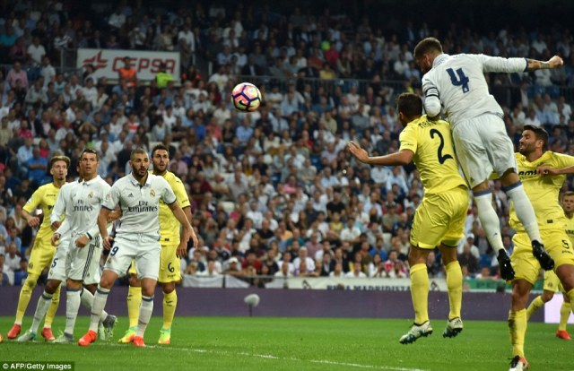 They also lost their 100 per cent record at the start of the new La Liga season as they needed Sergio Ramos to equalise