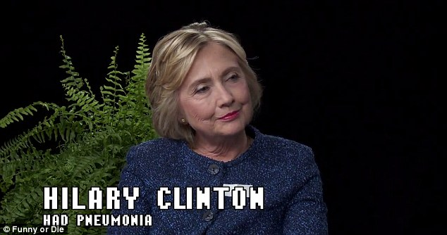 Clinton took a few days off the trail this week, but she did a radio interview and appeared on 'Between two ferns' with Zach Galifianakis
