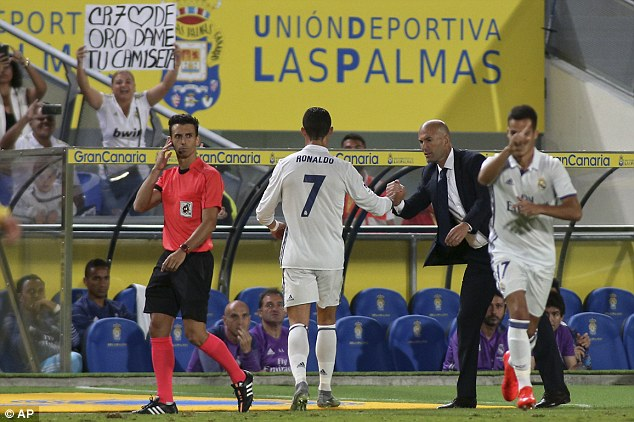 Cristiano Ronaldo's substitution for Real Madrid has turned into a soap opera in Spain