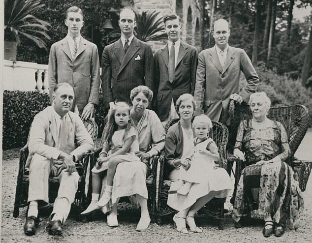 Eleanor Franklin D Roosevelt Family