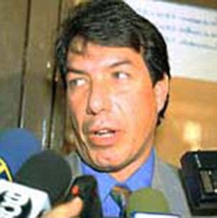 Accusation: Judge Maximiliano Fuenmayor claimed the ex-Miss Universe had threatened his career and his life