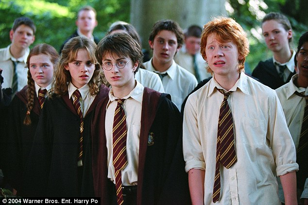 The UK also reported a rise in exorcisms with the increase being blamed on Harry Potter, pictured, alcohol and pornography
