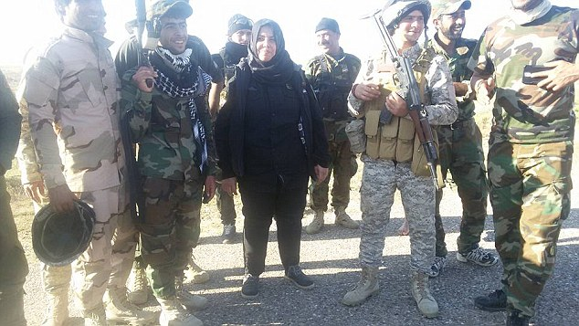 Despite six assassination attempts, Um Hanadi said she is determined to defeat ISIS in her native Iraq