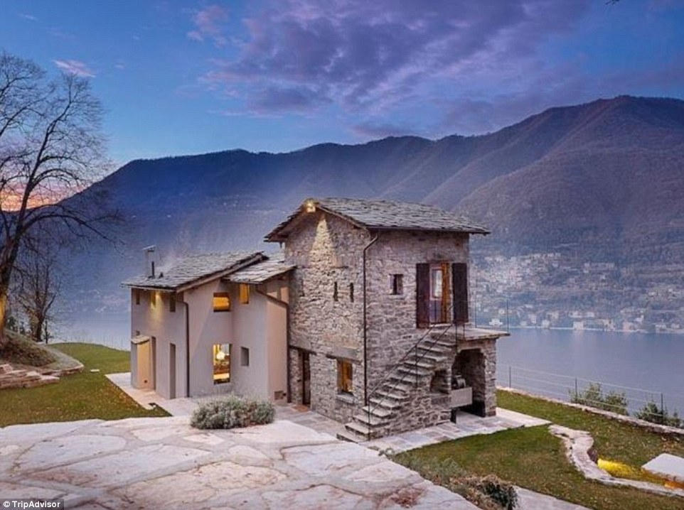 This Lake Como villa blends historical and modern themes, and looks over one of the most famous landscapes in the world