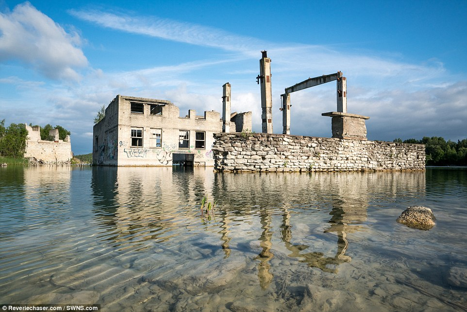 abandoned underwater prison estonia