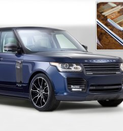 the london edition 250k overfinch range rover emblazoned with landmarks this is money [ 1908 x 1146 Pixel ]