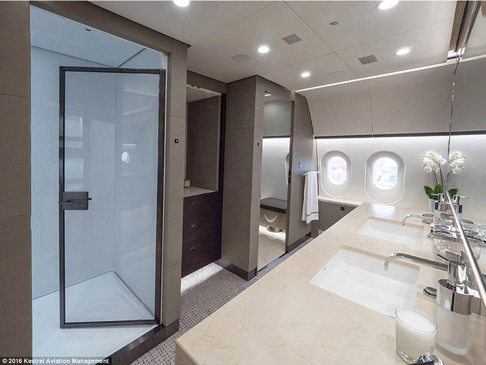 Inside The Dreamliner Thats Been Converted Into A Private