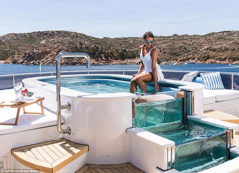 Glass Bottomed Pools And A SNOW Room Designers Reveal