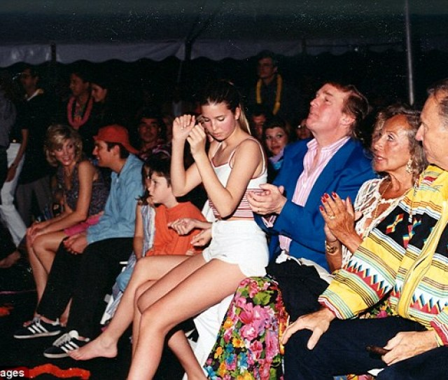Trump Said That His Daughter Is An Amazing Beauty Above Ivanka Sits On
