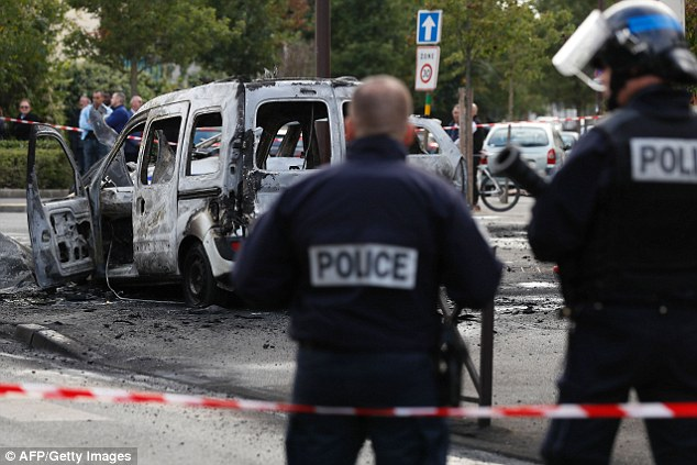 The horrifying attack took place on the Grande Borne, in the southern Paris suburb of Viry-Chatillon, on Saturday afternoon