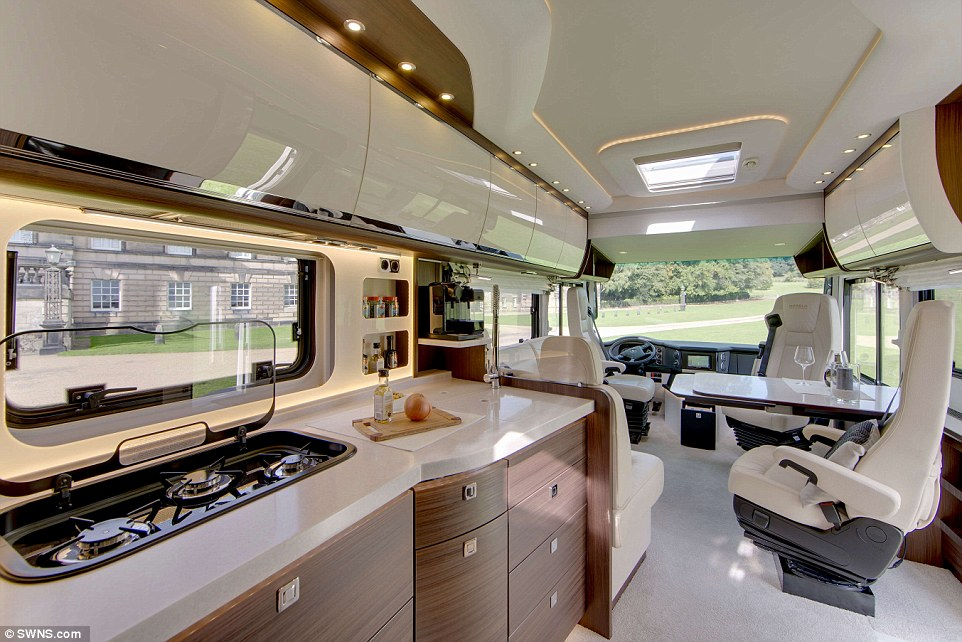A luxury hotel on four wheels The 380000 campervan with