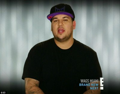 Rob Kardashian at the start of the show said things were going great with him and Chyna