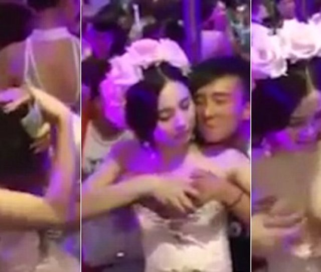 Chinese Woman Allows Guests To Touch Her Breasts For Money Daily Mail Online
