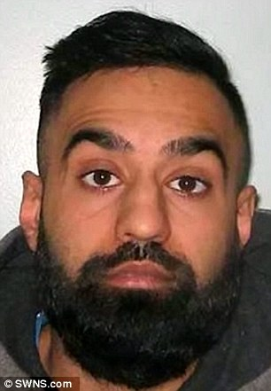 Ramzan, pictured, from Slough, Berkshire, was jailed for 16. Anwar received a 14-year sentence