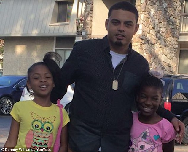 Danney Williams, a 30-year-old man claiming to be Bill Clinton's abandoned son, tells his five children (two pictured above) that his father is a former president