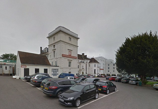 The married man had arranged to meet the 'girl' at the Bromley Court Hotel (pictured)