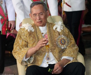 The world's longest-reigning monarch, who was worshipped as a father figure during his 70-year reign, died in a Bangkok hospital on Thursday
