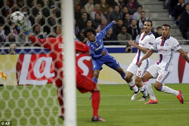 Image result for Juan Cuadrado strike seals win for 10-man Juventus