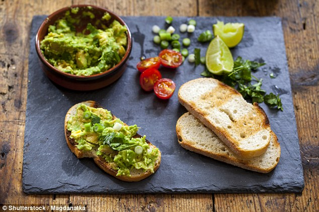 Image result for smashed avocado on toast image