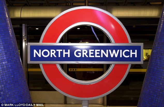 Tube: Police were called to the station after train staff found a 'suspicious item' (file image)