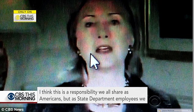 Hillary Clinton lectures State Department employees on cyber security in an embarrassing video that has surfaced