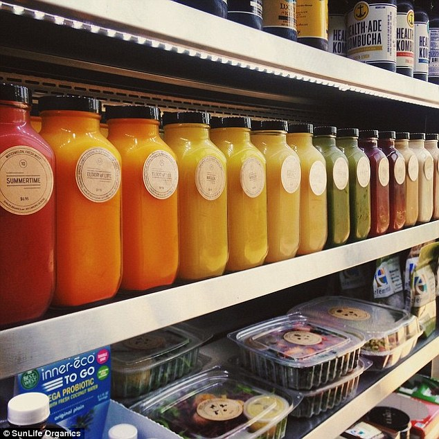 Now people line up for the chance to purchase Rafati's juices at one of SunLife Organics's six locations in the Southern California area