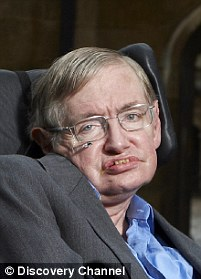 The project has gained backing from eminent scientists, including physicist Stephen Hawking (pictured) and cosmologist Martin Rees